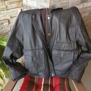 St. John's Bay genuine leather jacket